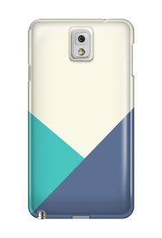 Triangular All Glossy Hard Case for Samsung Galaxy Note 3