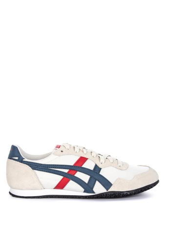 Onitsuka Tiger grey Serrano Sneakers DDB77SHE5D3159GS_1