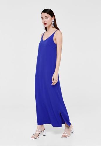 Love, Bonito blue Aurelia Camisole Maxi Dress 66C9AAA22697A0GS_1