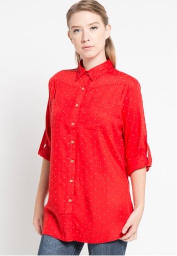 Le'Rosetz red Dot Shirt LE828AA41RRYID_1