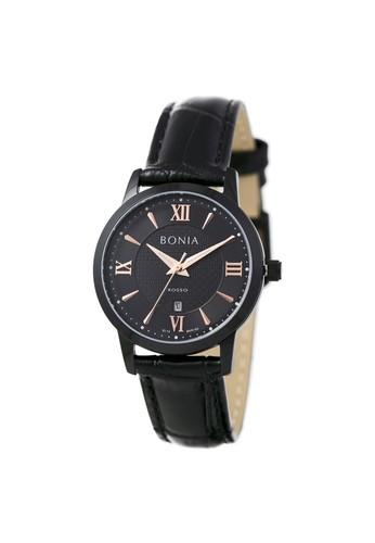 BONIA black Bonia Rosso - BR166-2733 - Jam Tangan Wanita - Black 39FBAAC36C3213GS_1