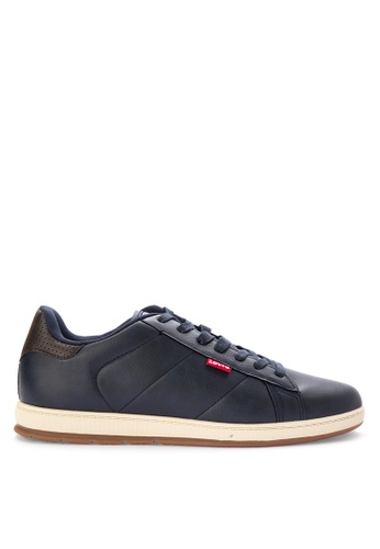 Levi's navy Declan Millstone Two-tone Sneakers 9775ESHFF807A3GS_1