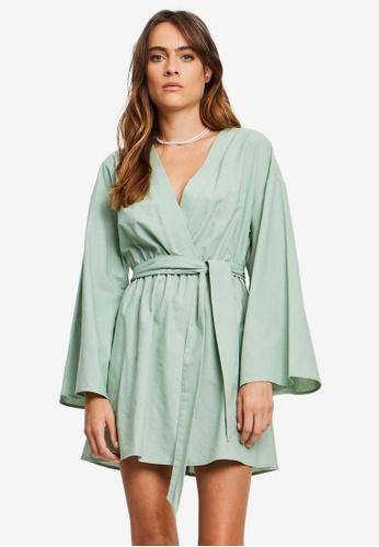 St MRLO green Tahiti Mini Dress EE63AAAE4D34DCGS_1