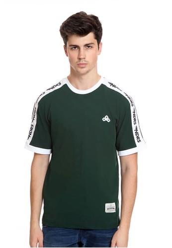 Endorse green Endorse Tshirt E Ndrs Stripe Green M - END-RK005 253F6AA118561BGS_1