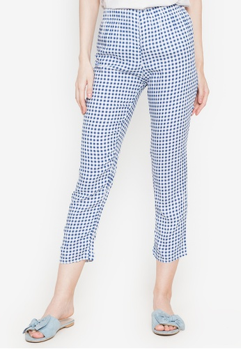 M and M blue Pajama Checkered 5F91FAAA72A594GS_1