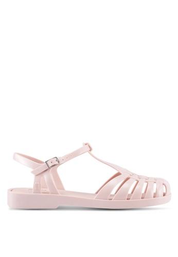 Melissa pink Melissa Aranha Quadrada Ad Sandals ME121SH0SX7GMY_1