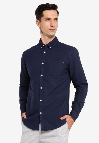 Cotton On navy Brunswick Shirt 3 D7E6CAA743C920GS_1