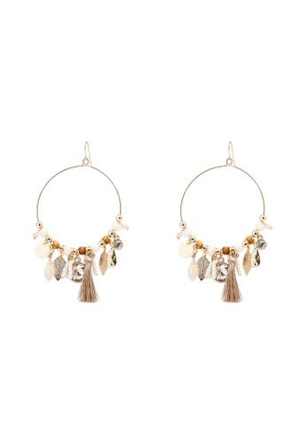 ALDO brown Matuwal Pierced Earring 2CBF4ACCA30960GS_1