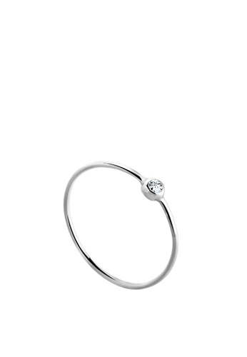 ELLI GERMANY white Ring Basic Crystals 534D7AC5C5D837GS_1