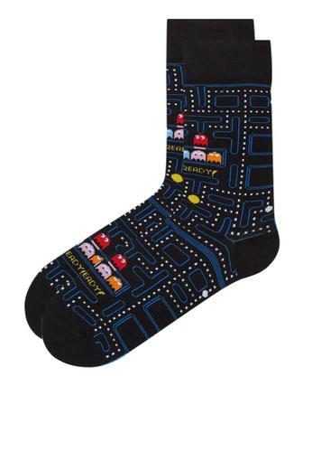 H&M black and multi Socks 57ED9AA3836033GS_1