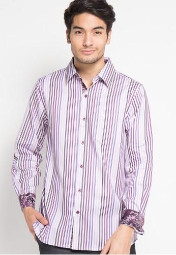 Bateeq Long Sleeve Cotton Cap Shirt
