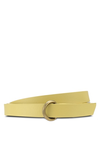 niko and ... yellow Leather Belt 2C2C2ACEB233A5GS_1