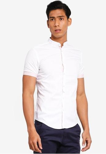 OVS 白色 Pocket Basic Tee 4F9FEAA61013F4GS_1