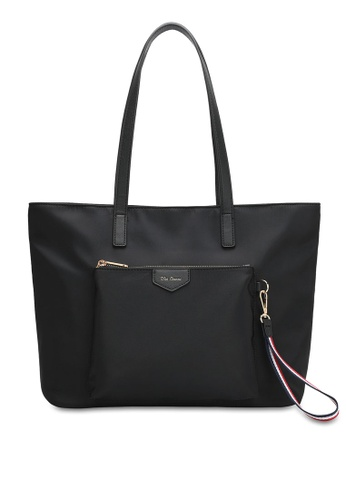 Wild Channel black Water Resistant Tote Bag 21FACAC86F38CCGS_1