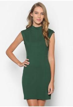 Collection High Neck Sheath Dress