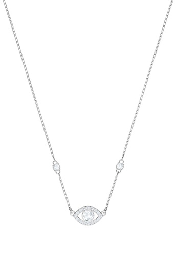 Swarovski silver Luckily Evileye Necklace 6482DACDE0118FGS_1