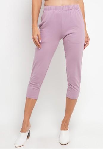 Tolliver purple Basic Sweatpants 3BC3DAABB63380GS_1