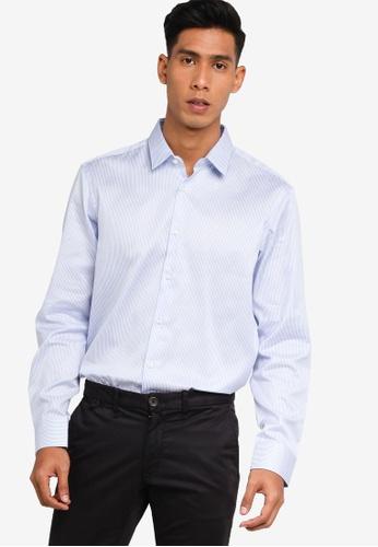 BOSS blue Eliott Shirt - BOSS Men 33170AAFF7A47DGS_1