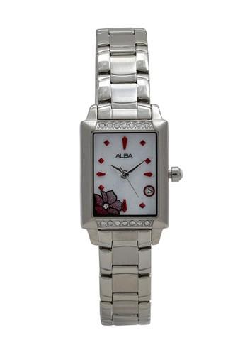 Alba silver ALBA Jam Tangan Wanita - Silver White - Stainless Steel - AXT385 CBD11ACCAFAB81GS_1