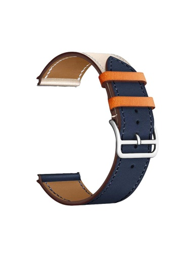 Kings Collection blue Blue Leather Apple Watch Band 38MM / 40MM (KCWATCH1076a) 15979AC8C1262AGS_1