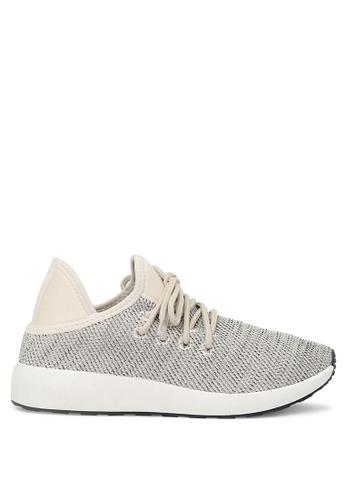 London Rag 灰色 米色系鞋带运动鞋 5DB03SHCA820C4GS_1