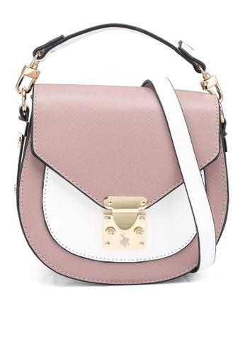 Swiss Polo pink Casual Sling Bag 6C50FACBDB6961GS_1