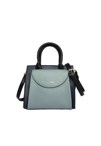 Pierre Cardin blue Pierre Cardin Premium Small Top Handle Bag 7F7F3ACBBE2DADGS_1