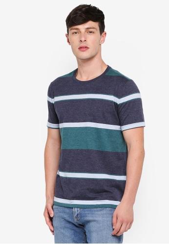 GAP navy Everyday Stripe T-Shirt 53686AA0AB8D52GS_1