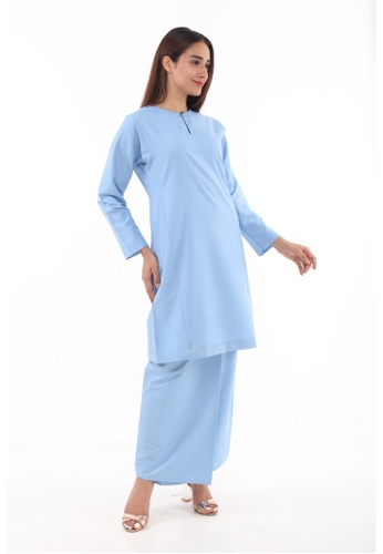 Amar Amran blue Baju Kurung Pahang Qirana 21311AAE01CC70GS_1