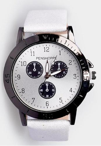 Penshoppe white Casual Watch 2BB76AC6707FD8GS_1