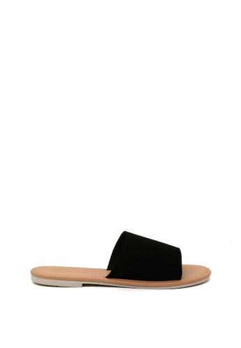 London Rag black Summer Slide Sandals 8D446SH2E7D18AGS_1