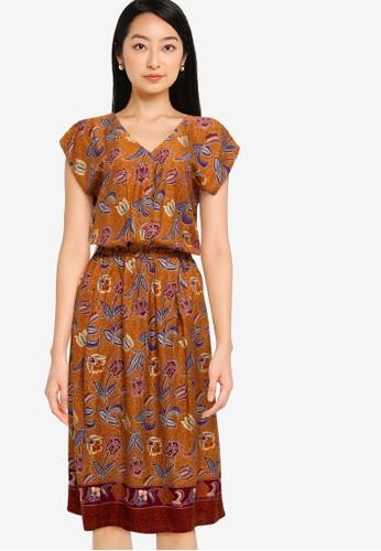 Rianty Batik brown Daster Venia Collar A7EECAA749FB2CGS_1