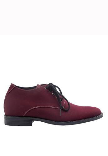 Keeve red Keeve Shoes Peninggi Badan Formal 146- maroon 8BE48SH2F6782BGS_1