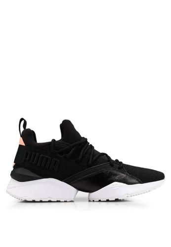online store b15d8 f9a4b PUMA black Muse Maia Bio Hacking Women s Sneakers F5680SH6A8C6CBGS 1
