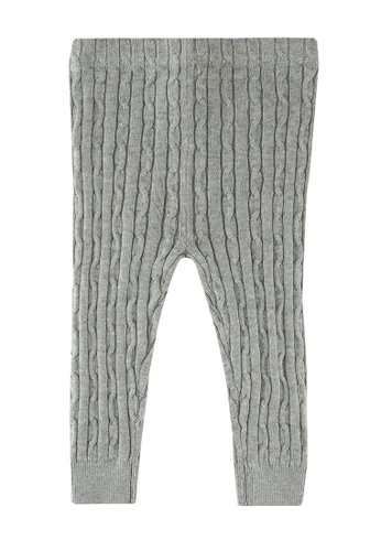 GAP grey Pure Cotton Knitted Tights 45EA1KAF8C76F8GS_1