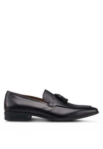ALDO black Padern Tassel Loafers 40C66SH150B3C1GS_1