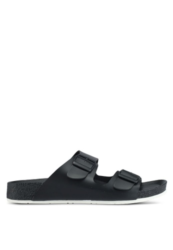 Bata 黑色 經典休閒涼鞋 66E8BSH0ECD83DGS_1