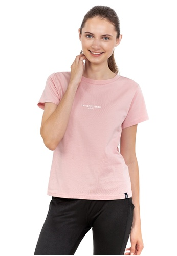 Huitieme pink HUITIÈME LE CORDON BLEU SHORT SLEEVE COTTON PINK TEE. 14FC4AAAA0618FGS_1