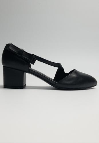 Lara black Women's Point Toe Shoes 728C2SH1C082E1GS_1