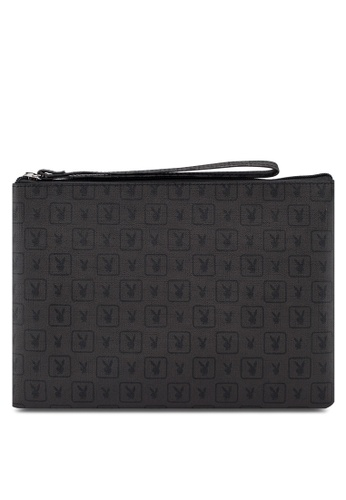 Playboy black Small Clutch Bag BB723AC3C3C1FEGS_1