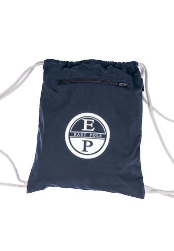 East Pole navy Unisex Drawstring Waterproof Backpack/Beach Bag 09DA1AC4E9CB16GS_1