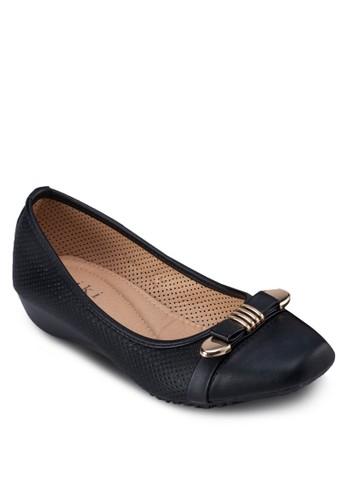 扣環蝴蝶結平底esprit taiwan鞋, 女鞋, 芭蕾平底鞋