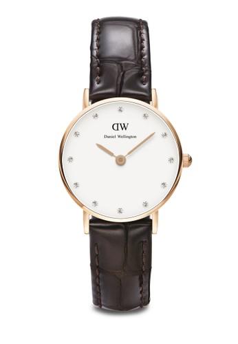 Classy York-Waesprit官網tch Rose gold 26mm, 錶類, 皮革錶帶