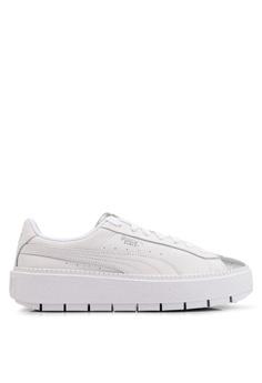 cdbcf81a68e7 Puma white Sportstyle Prime Platform Trace Bio Hacking Women s Shoes  B2CBCSH54917A3GS 1