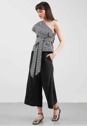 4a0e53d45b289 Shop Berrybenka Evie One Shoulder Blouse Online on ZALORA Philippines