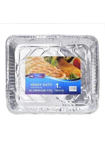 HOUZE Aluminium Foil Tray - 398x338x48mm A9104HL18371ECGS_1