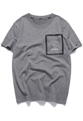 HAPPY FRIDAYS Oversize  Pocket Short T-shirt RS1215 FBD70AAB6B7001GS_1