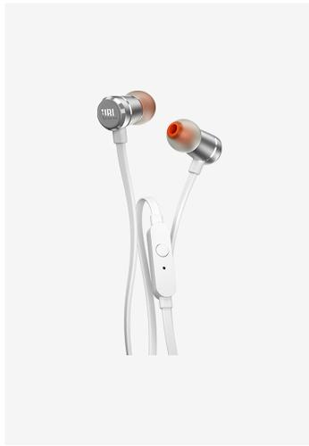 JBL silver JBL T290 in-ear headphones 9ACFBACF373357GS_1