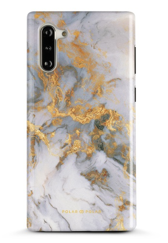 Polar Polar white Mist Marble Samsung Galaxy Note10 Dual-Layer Protective Phone Case (Glossy) 7FAD6ACCAF3F41GS_1