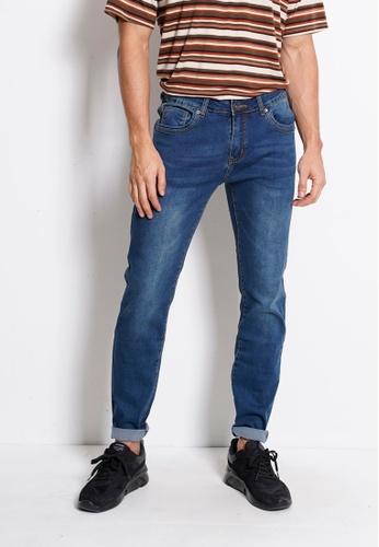 Hi Style blue Slim Fit Long Jeans B6AA6AA4CEA950GS_1